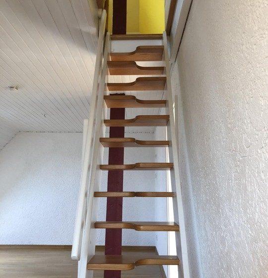 Treppe zum Studio DS
