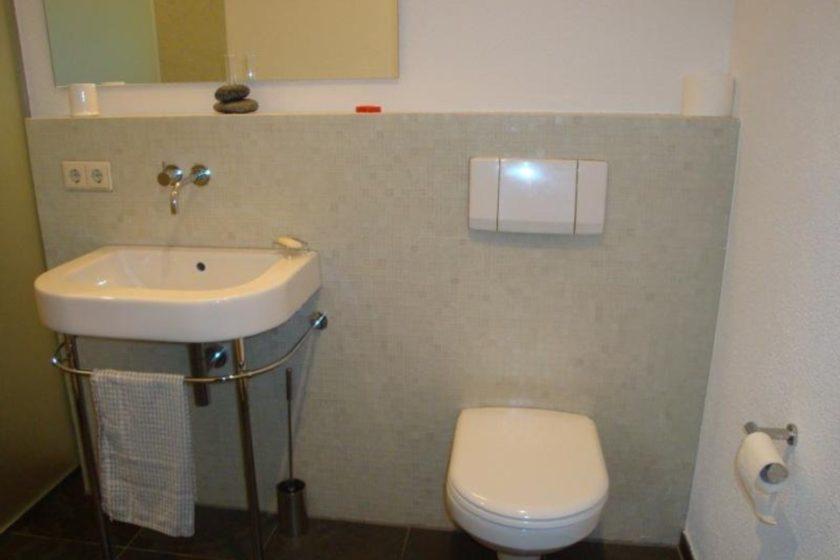Gäste-WC m. Dusche