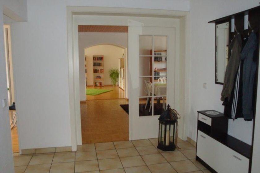 Flur-Esszimmer-Wohnzimmer