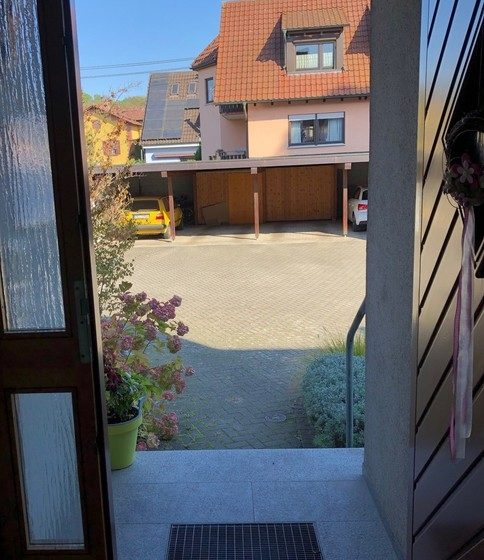 Blick in den Innenhof